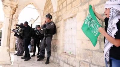 KUDÜS - İsrail polisinden Mescid-i Aksa'da cuma namazı sonrası cemaate müdahale: 20 yaralı
