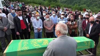 kabristan -  Ordu'da sulama göletinde boğularak ölen çocuklar toprağa verildi