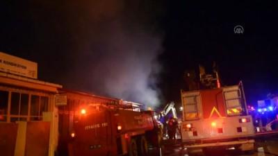 mobilya - Amasya'da çıkan yangın 2 mobilya atölyesinde hasara neden oldu