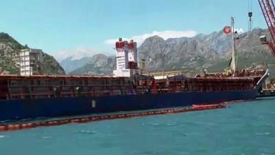 ayetler -  Antalya'da denizi kirleten gemiye 1 milyon 566 bin lira ceza
