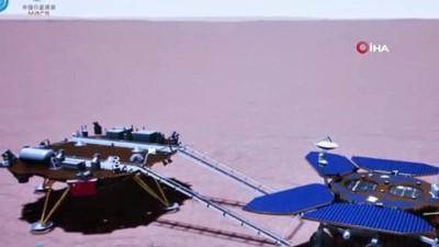 tanri -  - Çin'in Mars keşif aracı Zhurong, Kızıl Gezegen'e ilk ayak izini bıraktı