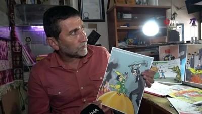 Gazze'deki vahşeti çizdiği karikatürler ile anlatıyor