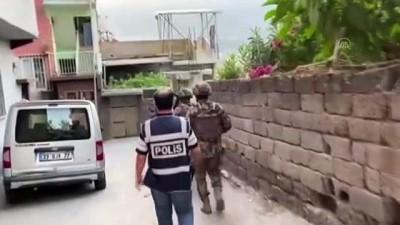 ozel harekat polisleri - HATAY - Uyuşturucu operasyonunda yakalanan 2 şüpheli tutuklandı