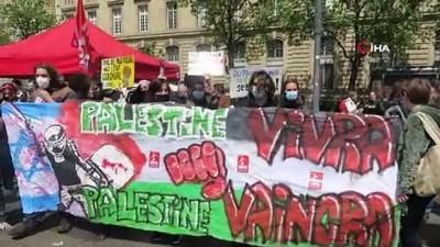 irkcilik -  - Paris'te binlerce kişi Filistin için sokaklara döküldü - İsrail'e boykot çağrısı yapıldı