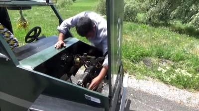 HAKKARİ - Hurda malzemeden benzinli araç yaptı