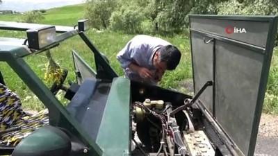 benzin -  Yüksekovalı çoban 20 litre benzinle 150 kilometre giden 'Hummer' tarzı araba yaptı