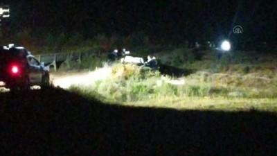 ADANA - Biri otomobil içerisinde diğeri arazide iki kadın silahla vurulmuş halde ölü bulundu