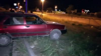 arac kullanmak -  Ehliyetsiz ve 261 promil alkollü olan sürücü kaza yaptı : 2 yaralı