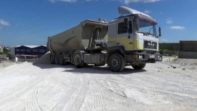 yuksek gerilim - KONYA - Akıma kapılan kamyon sürücüsü hayatını kaybetti