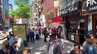 kalaba -  Zonguldak'ta kısıtlama sonrası yoğunluk başladı