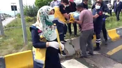 ticari taksi -  Erciş'te zincirleme kaza: 6 yaralı