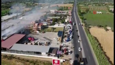 soguk hava deposu -  Gıda fabrikası alevlere teslim oldu Videosu