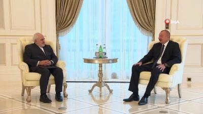 """milli bayram -  - İran Dışişleri Bakanı Zarif, Azerbaycan'da - Aliyev: """"İran ve Azerbaycan'ın bölgede uzun vadeli ve sürdürülebilir barışa katkıda bulunması gerekiyor"""""""