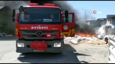 mobilya -  Sakarya mobilyacılar çarşısında korkutan yangın