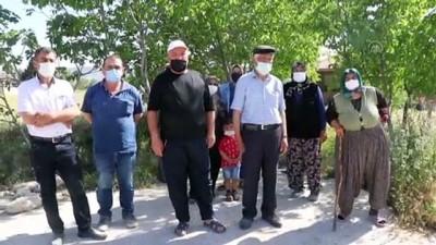 BURDUR - Burdur'da imar uygulamasındaki parselasyona bir grup mülk sahibi tepki gösterdi