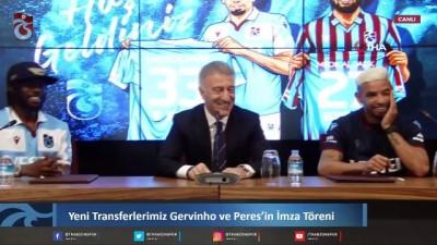 italyan - Trabzonspor Gervinho ve Peres ile sözleşme imzaladı -2-