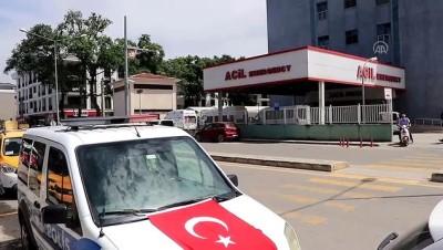 polis teskilati - YALOVA - Otomobilin çarpması sonucu şehit olan polis memurunun naaşı memleketine gönderildi