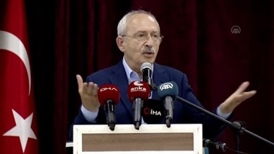 """kanaat onderleri - BURDUR - Kılıçdaroğlu: """"Parlamento milli iradeyi temsil ediyorsa milli iradeye her birimizin tek tek saygı duyması lazım"""""""