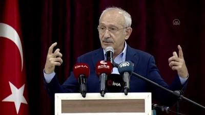 """kanaat onderleri - BURDUR - Kılıçdaroğlu: """"Stratejinin birinci ayağı demokrasi olmak zorundadır"""""""