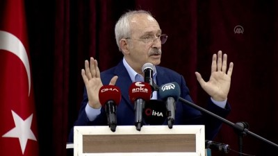 """kanaat onderleri - BURDUR - Kılıçdaroğlu: """"Yeni bir siyaset anlayışını Türkiye'ye getirmek zorundayız"""""""