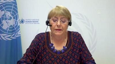 CENEVRE - BM İnsan Hakları Konseyi Filistin özel oturumu - Michelle Bachelet