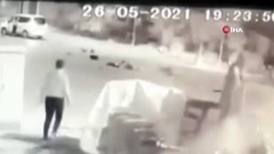 elektrikli bisiklet -  Elektrikli bisiklet sürücüsünün öldüğü kaza kamerada