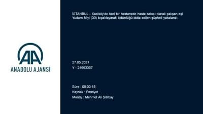 ticari taksi - İSTANBUL - Kadıköy'de eşini bıçaklayarak öldürdüğü öne sürülen şüpheli Pendik'te yakalandı
