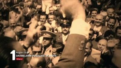 İSTANBUL - TRT 'Darbelerin Pusulası: 27 Mayıs' belgeseli hazırladı