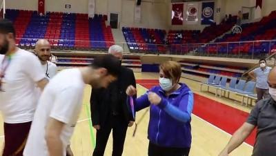 KARABÜK - Türkiye işitme engelliler basketbol final maçları yapıldı