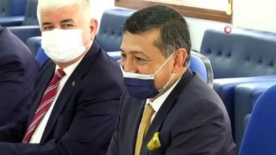 parlamento -  - TBMM ve KKTC Dostluk Grubu üyeleri istişare toplantısı düzenledi