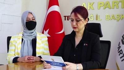 millet iradesi - TEKİRDAĞ - AK Parti Trakya teşkilatlarında 27 Mayıs'ın 61. yılı dolayısıyla basın açıklaması yapıldı