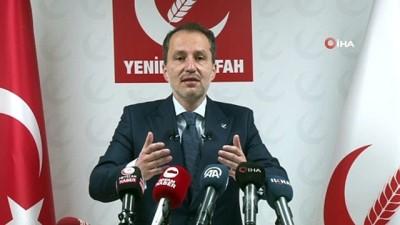 Yeniden Refah Partisi Genel Başkanı Dr. Fatih Erbakan gündemi değerlendirdi