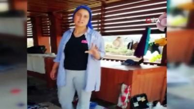 hediyelik esya -  Antik kentte hediyelik eşya satışında kadınların kavgası karakolda bitti