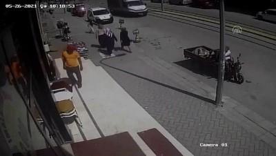 elektrikli bisiklet - ESKİŞEHİR - İş yeri önündeki hırsızlık güvenlik kameralarına yansıdı
