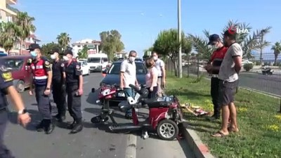 elektrikli bisiklet -   Minibüsün çarptığı İsveçli kadın öldü