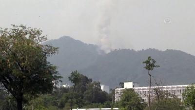 Pakistan'ın başkenti İslamabad'da orman yangını