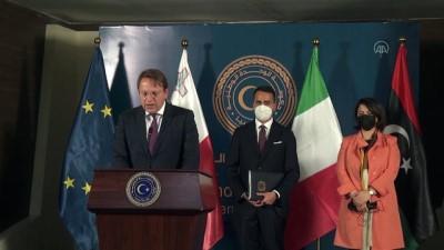 italyan - TRABLUS - Libya Akdeniz'deki yasa dışı göçle mücadelede güney sınırlarının korunması için AB ülkeleri ile anlaştı - (AB Komisyonu Üyesi Oliver Varhelyi)