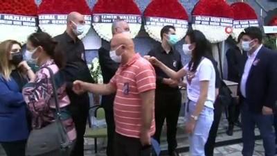 Vekil Sertel'in gazeteci eşi son yolculuğuna uğurlandı