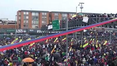 supermarket - BOGOTA - Kolombiya'da hükümet karşıtı protestolar 1. ayını doldurdu