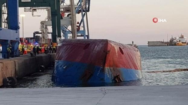 tello -  - İspanya'da Türk gemisi battı: Kayıp 2 kişi aranıyor
