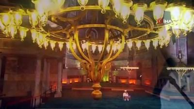 İstanbul'un Fethi'nin 568. yıl dönümü ışık gösterileriyle kutlandı