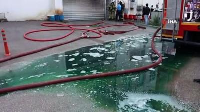 mobilya -  Mobilya fabrikasında çıkan yangın korku dolu anlar yaşattı