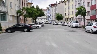 tam gun - SİVAS - Sokağa çıkma kısıtlaması nedeniyle sessizlik hakim