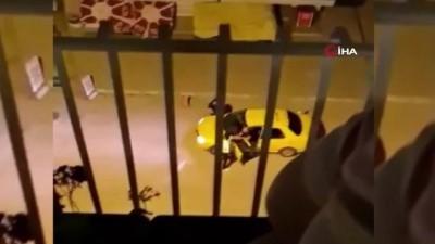 ticari taksi -  Antalya'da dehşet...Ticari taksi içinde kadınla tartışıp, taksi şoförüne kurşun yağdırdı