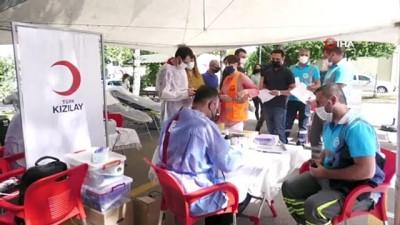 yurttas -  ASKİ ve Türk Kızılayı'ndan ortak kan bağışı kampanyası