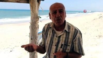 - Gazze'de İsrail saldırılarında zarar gören kanalizasyon tesislerindeki kirli su denize aktı