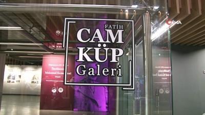 Fatih Cam Küp Galerisi'nde anlamlı sergi