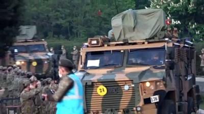 egzersiz -  NATO, Türk askerlerine hayran kaldı