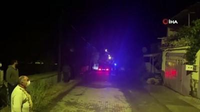 yasli kadin -  Yangın çıkan evden yaşlı kadını komşuları kurtardı
