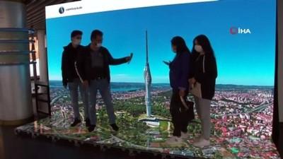 İstanbul'un yeni sembolü Çamlıca Kulesi kapılarını ziyaretçilerine açtı
